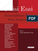 2013 Jurnal Sajak (Puisi Esai)