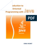 An Introduction to Object Oriented Programming With Java