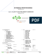 CFPB building project submission to the National Capital Planning Commission