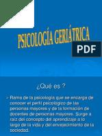 Psicologia Geriatrica
