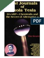 Lost Journals of Nicola Tesla