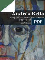 Andrés Bello. Compendio de una biografía didáctica del poeta sabio y humanista