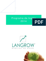 Propuesta- Programa de Inglés