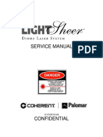 LightSheer LS Service Manual