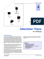Alternistor Triacs (6-40 Amps)