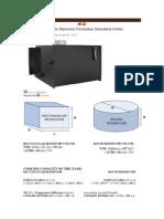 Hydraulic Rservoir Formulas Standard Unitis