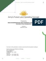 Adaptive Campaigning-future Land Operating Concept