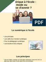 Le numérique à l'école - copia