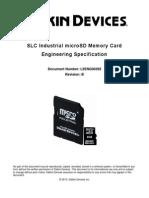 Delkin MicroSD Spec
