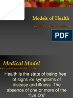 Models of Health