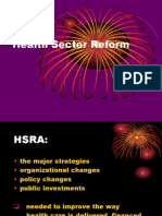 Health Sector Reform