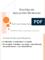 Ana Cristina Nocoes de Relacoes Humanas