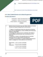 102505A_ Act 9. Quiz 2_Administracion de La Salud Ocupacional