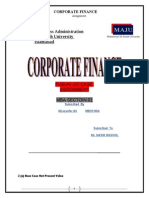 Fubuki Case  Study (CORPORATE FINANCE) 03125090611