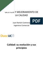 GESTIÓN Y MEJORAMIENTO DE LA CALIDAD