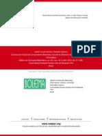 Construcción Social del Conocimiento Matemático durante la Obtención de Genes en una Práctica Toxico