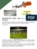 Botafogo-PB perde fora de casa para o Atlético