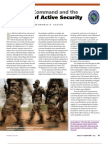 U.S. Africa Command and the  Principle of Active Security