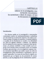 Diario de Campo y Documentos-Maritza Montero-2007