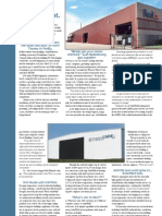 SolarWall - Industrial Buildings Brochure (solar air heating system, fastest ROI)