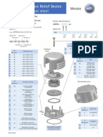 Pressure Relief Device Messko-Data Sheet