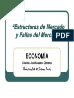 Estructuras de Mercado y Fallas Del Mercado[1]