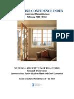 Realtors Confidence Index Report February 2014