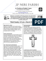 March 23rd Full Bulletin