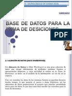 unidad2basesdedatosparaltomadedesiciones-100325154023-phpapp01