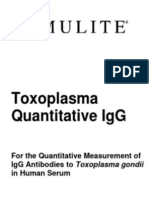 IMMULITE:IMMULITE 1000 Toxoplasma Quantitative IgG