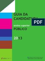 Guia de Candidatura 2014