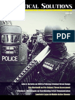 Counter-Gang Strategy in Tactical Solutions magazine, Spring 2014