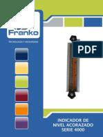 Tubo de vidrio medicion de nivel FRANKO