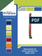 Medidor de nivel magnetico FRANKO