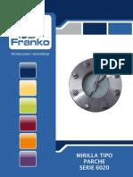 Mirilla o visor para tanques y procesos