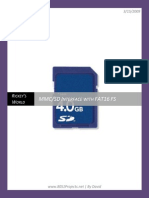 MMC SD Card Interfacing and FAT16 Filesystem