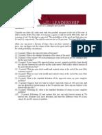 Portfolio Theory Examples&Answer