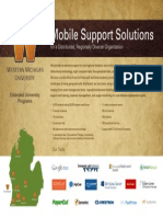 Mobile Support Solutions for a Distributed, Regionally Diverse Organization (213550148)