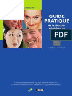 Guide de La Redaction Administrative
