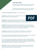 CNJ - Recomendação nº 02 de 2006 (ECA)