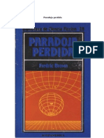 028. Paradoja Perdida - Fredric Brown