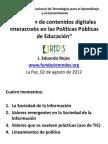 Contenidos Digitales en Pol Pub Educación