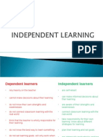 01 Independent Learners