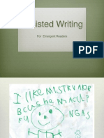 assisted writingpd