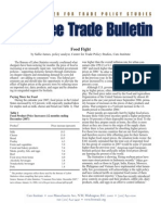 Food Fight, Cato Free Trade Bulletin No. 31