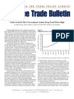 Crisis Averted? How Government Actions Keep Food Prices High, Cato Free Trade Bulletin No. 35