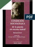 Dort, Condicion Sociologica