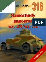 (Wydawnictwo Militaria No.318) Samochody Pancerne wz.29/wz.34