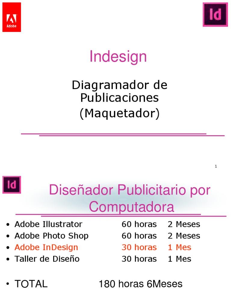 Clase01 InDesign CS6