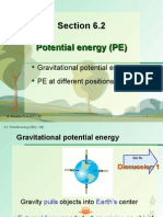 Section 6.2 Potential Energy (PE)